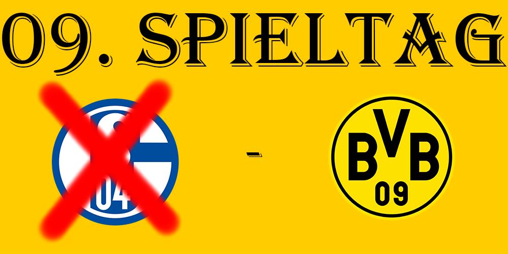 09. Spieltag: S03+1 - BVB