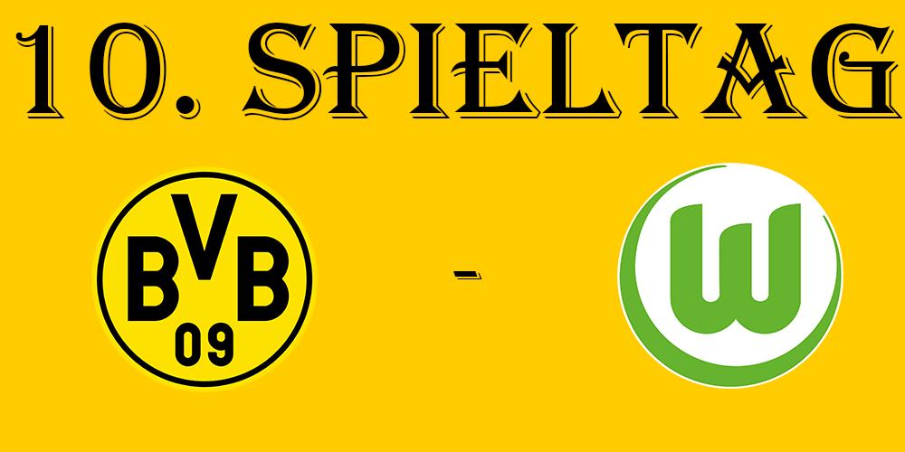 10. Spieltag: BVB - VfL Wolfsburg