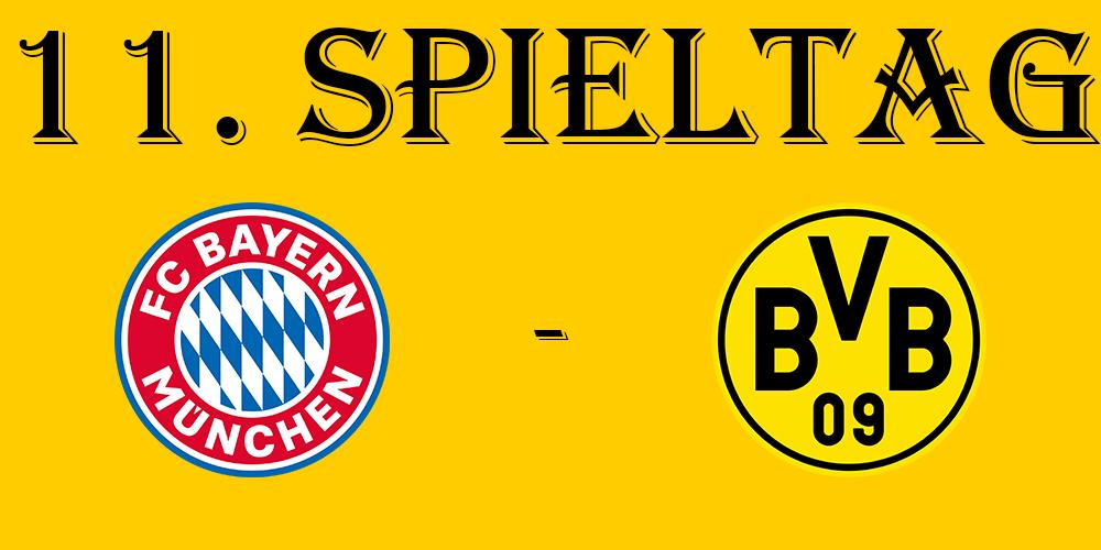 11. Spieltag: FC Bayern München - BVB