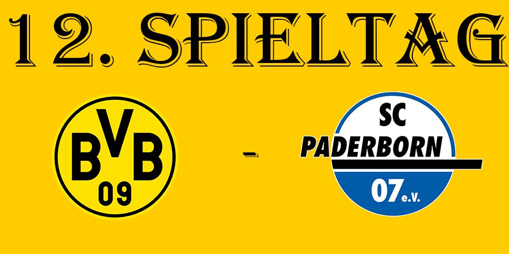 12. Spieltag: BVB - SC Paderborn