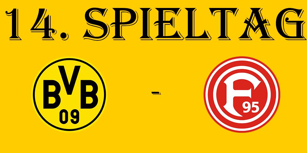14. Spieltag: BVB - Fortuna Düsseldorf