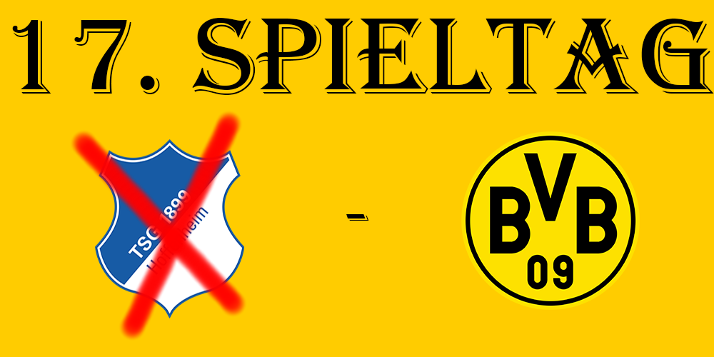 17. Spieltag: TSG Hoppenheim - BVB