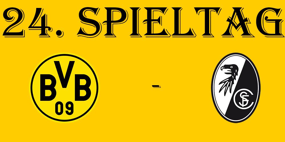 24. Spieltag: BVB - SC Freiburg