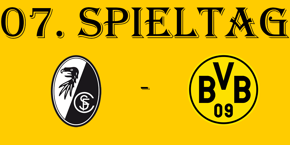 07. Spieltag: SC Freiburg - BVB