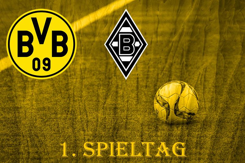 1. Spieltag: BVB - Borussia Mönchengladbach