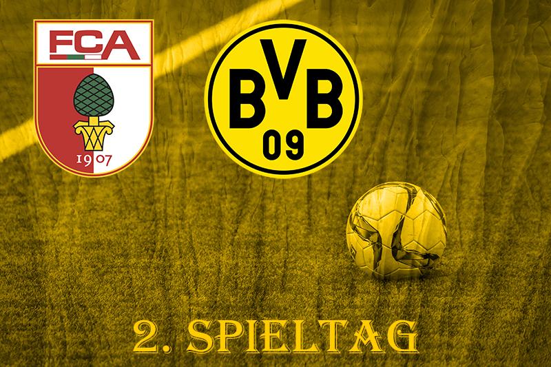 2. Spieltag: FC Augsburg - BVB
