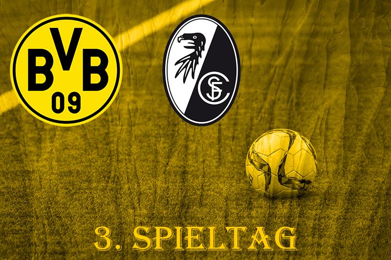 3. Spieltag: BVB - SC Freiburg