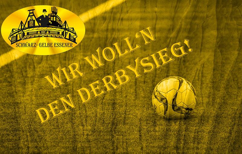 Wir woll'n den Derbysieg!