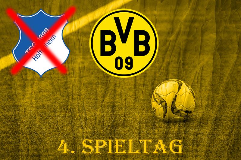 4. Spieltag: TSG 1899 Hoffenheim - BVB