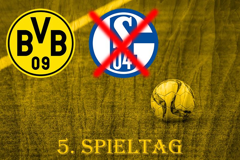 5. Spieltag: Derby - BVB - S03+1