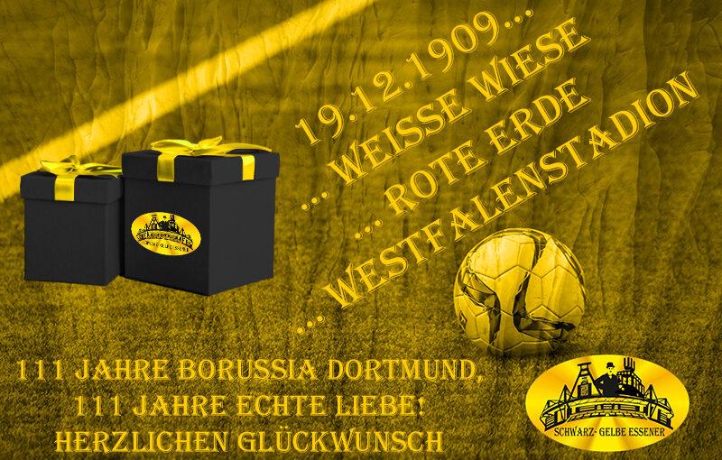 111 Jahre Borussia Dortmund