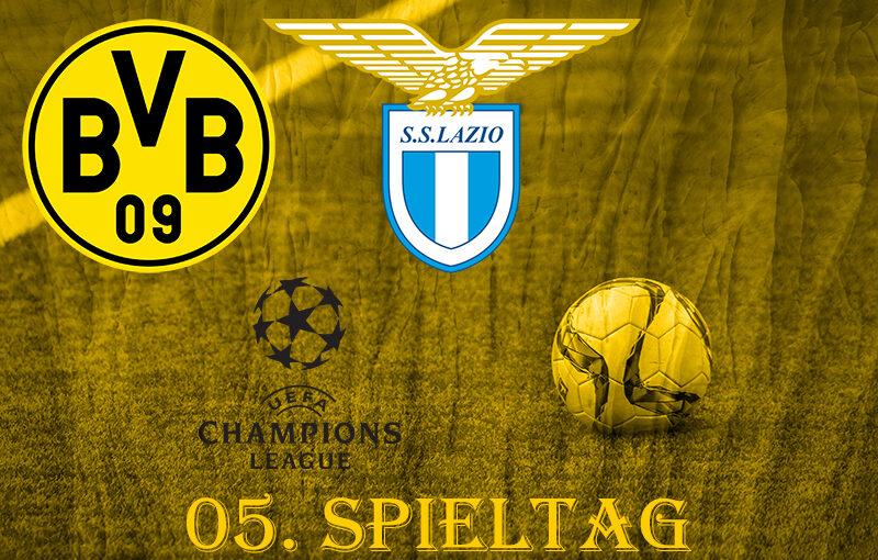 CL, 5. Spieltag: BVB - Lazio Rom