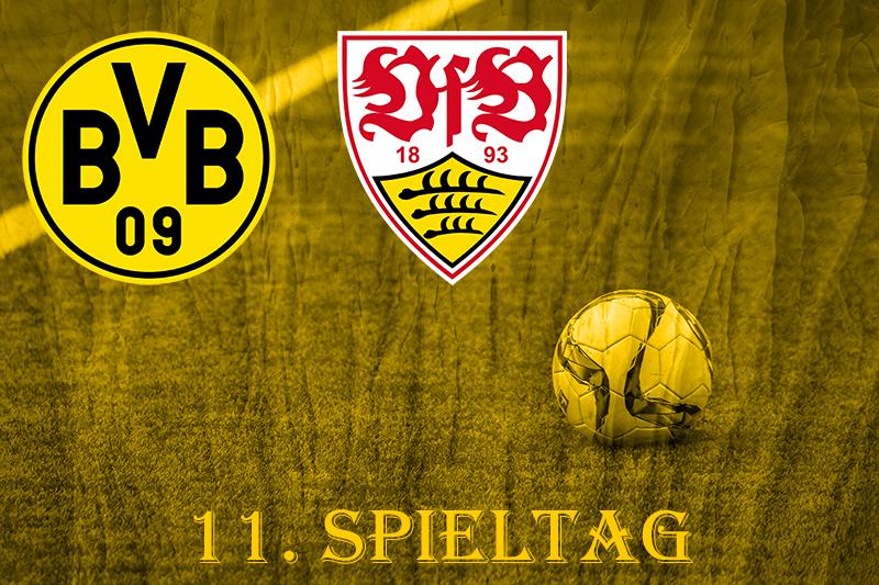 11. Spieltag: BVB - VfB Stuttgart
