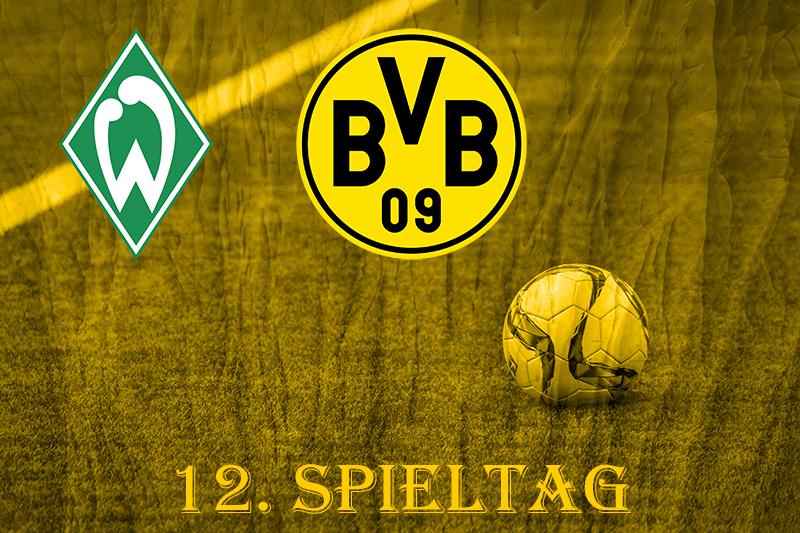 12. Spieltag: SV Werder Bremen - BVB