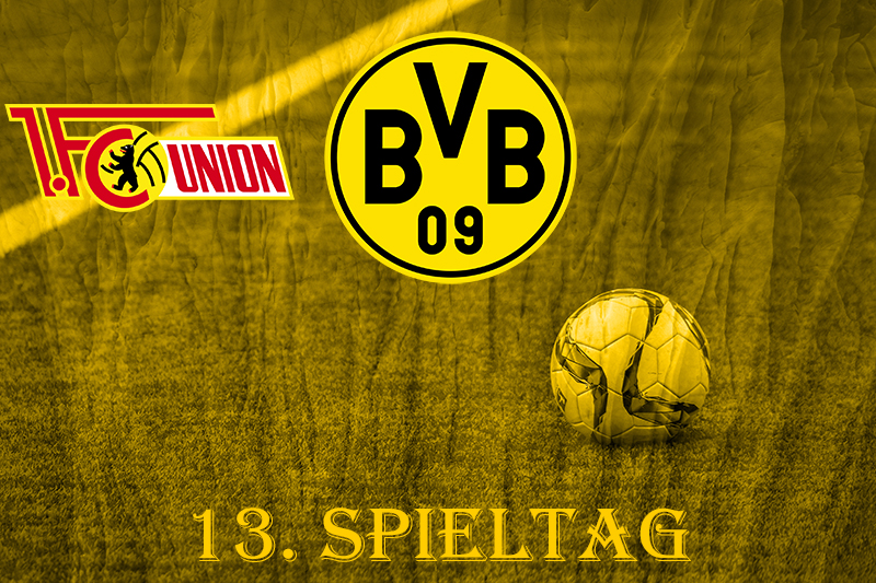 13. Spieltag: 1. FC Union Berlin - BVB
