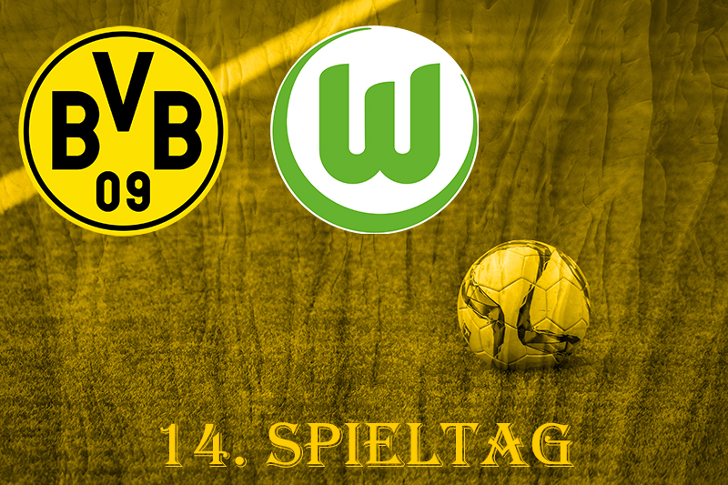 14. Spieltag: BVB - VfL Wolfsburg