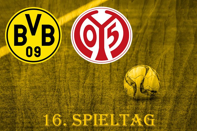 16. Spieltag: BVB - FSV Mainz 05