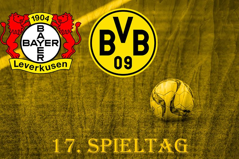 17. Spieltag: Bayer 04 Leverkusen - BVB