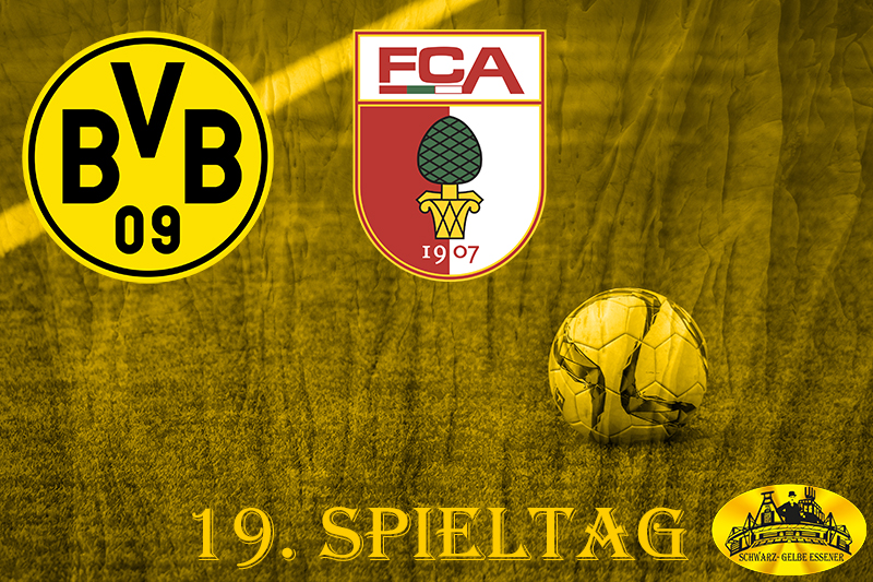 19. Spieltag: BVB - FC Augsburg