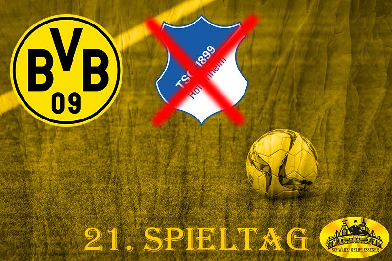 21 Spieltag: BVB - Hoppenheim