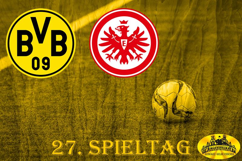 27. Spieltag: BVB - SG Eintracht Frankfurt