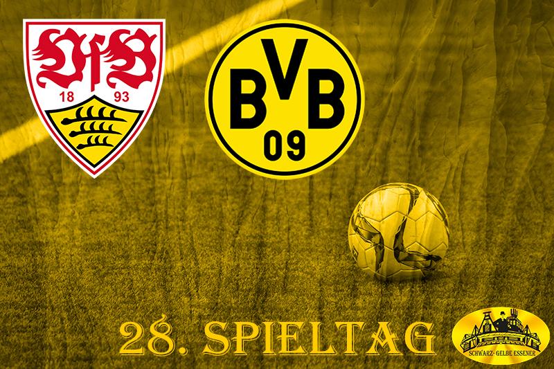 28. Spieltag: VfB Stuttgart - BVB