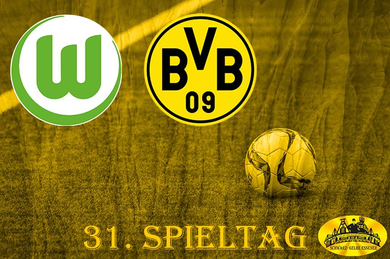 31. Spieltag: VfL Wolfsburg - BVB