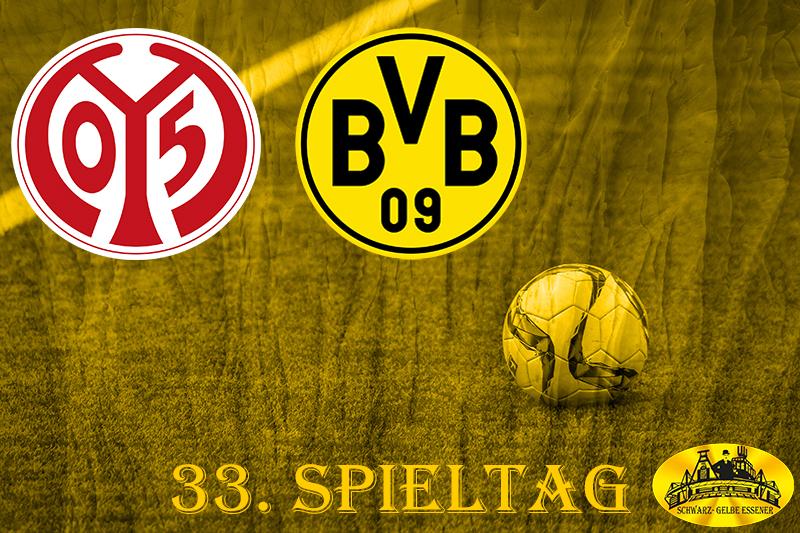 33. Spieltag: FSV Mainz 05 - BVB