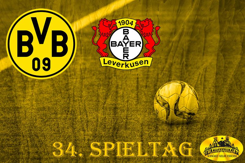 34. Spieltag: BVB - Bayer 04 Leverkusen