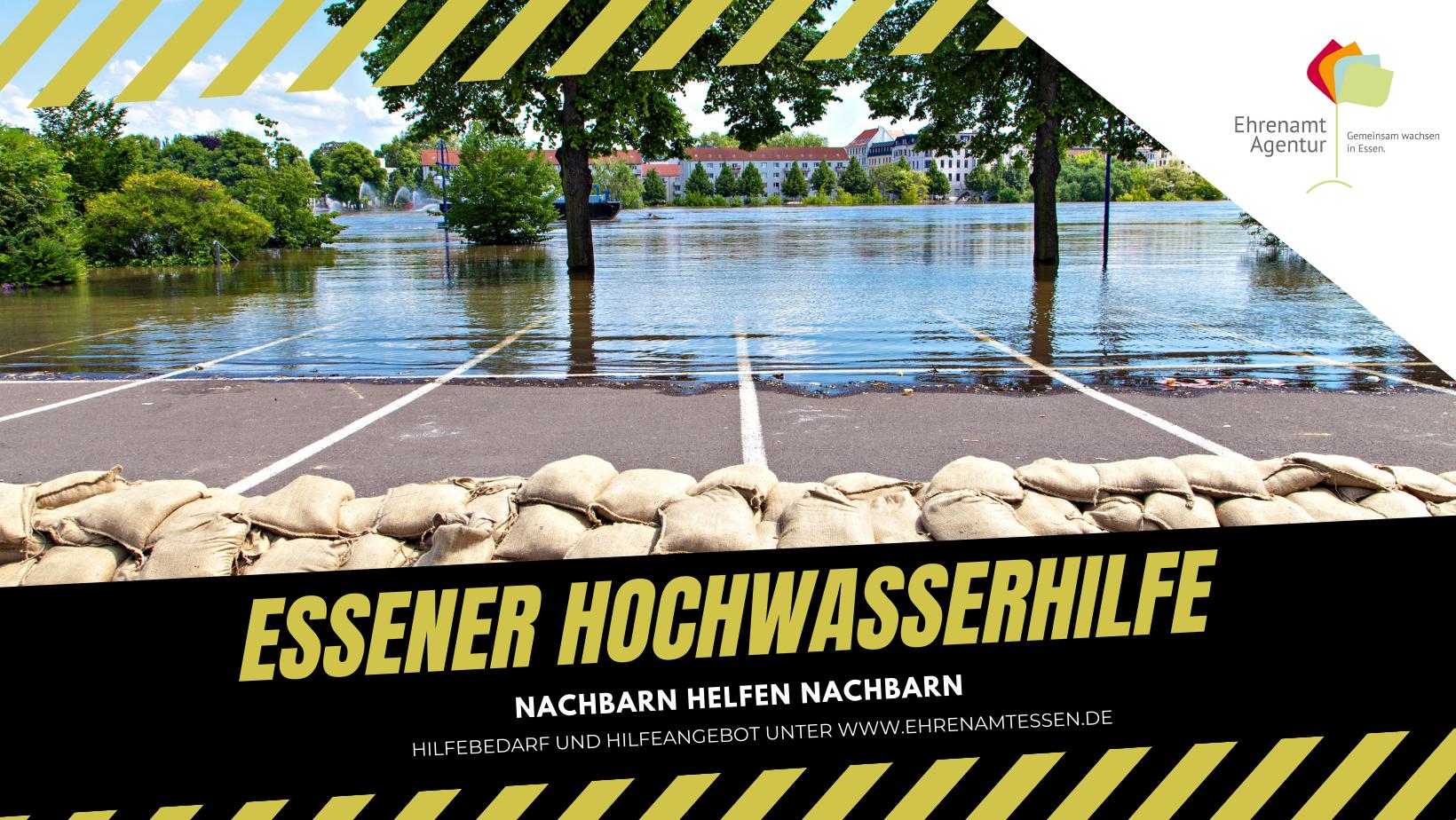 Hochwasserhilfe - Ehrenamt Agentur Essen e.V.