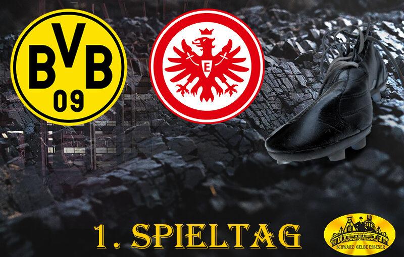 1. Spieltag: BVB - SG Eintracht Frankfurt