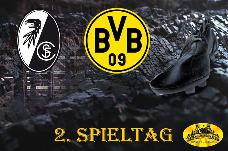 2. Spieltag: SC Freiburg - BVB