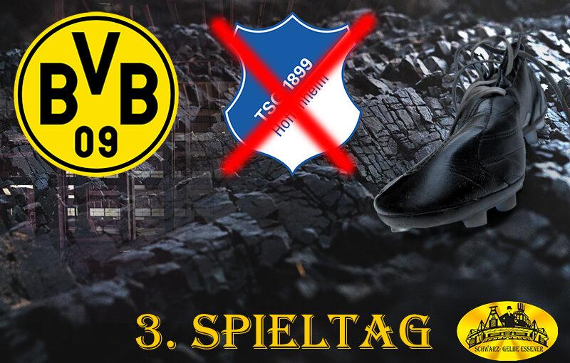 3. Spieltag: BVB - TSG 1899 Hoffenheim