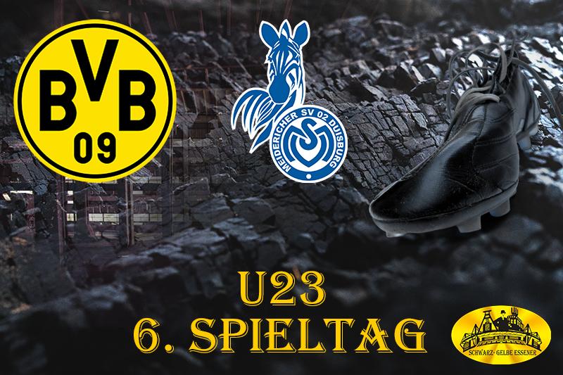 U23, 6. Spieltag: BVB - MSV Duisburg