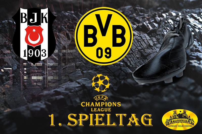 Champions League - 2. Spieltag: Beşiktaş Istanbul - BVB
