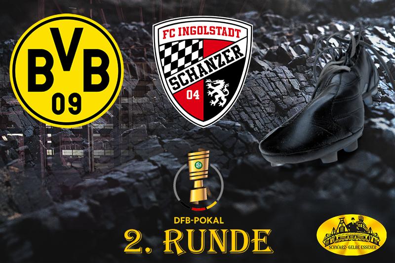 DFB Pokal - 2. Runde: BVB - FC Ingolstadt 04