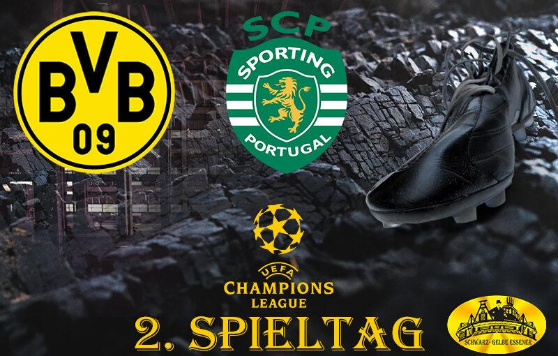 Champions League - 2. Spieltag: BVB - Sporting Lissabon