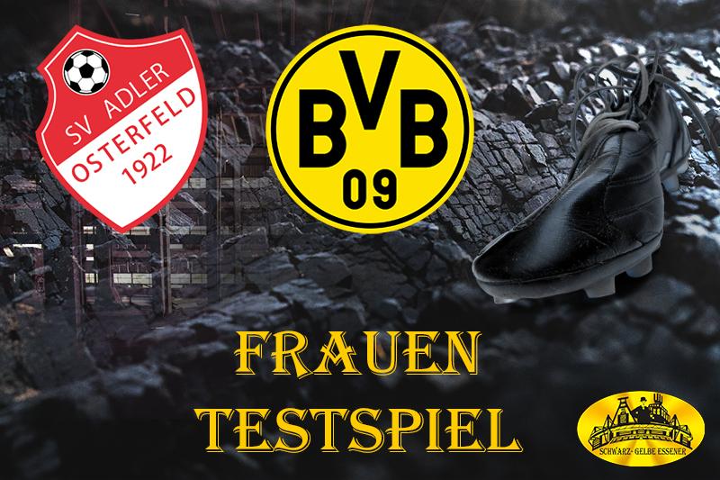 Frauen - Testspiel: SV Adler Osterfeld Frauen - BVB-Frauen