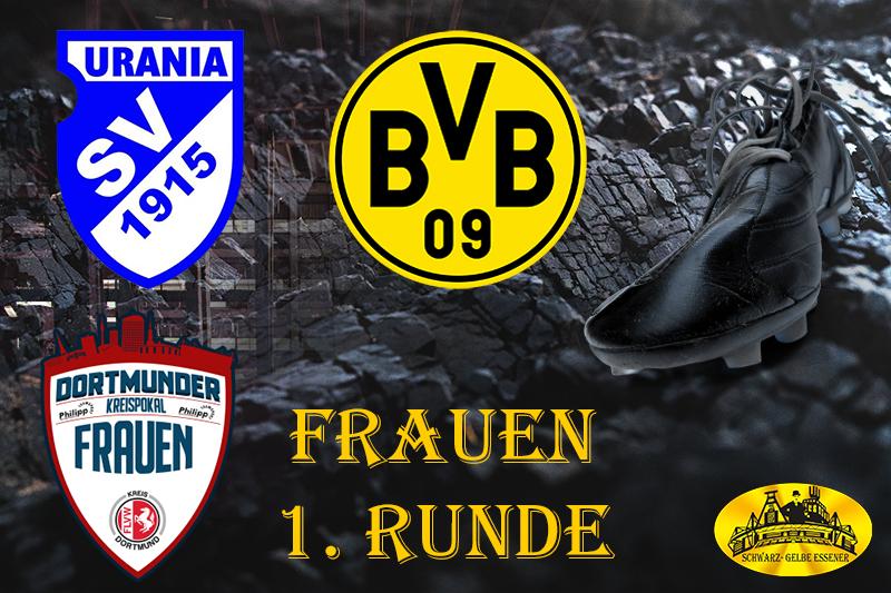 Kreispokal - 1. Runde: Urania Lütgendortmund - BVB-Frauen