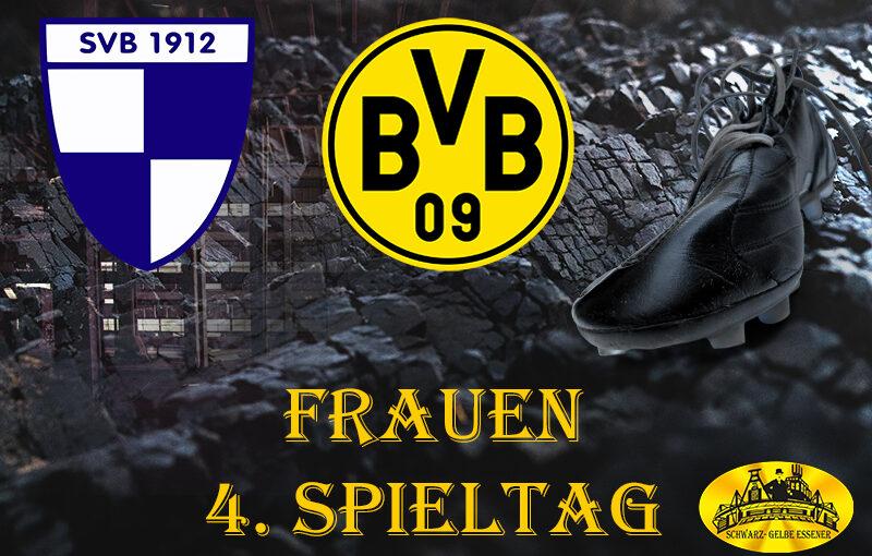 4. Spieltag - Frauen: SV Berghofen III - BVB-Frauen
