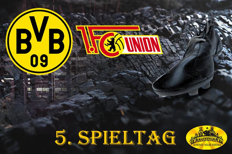 5. Spieltag: BVB - 1. FC Union Berlin