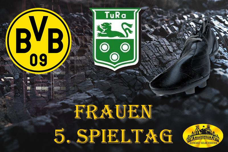 5. Spieltag - Frauen: BVB-Frauen - TuRa Asseln