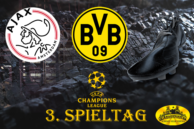 Champions League - 3. Spieltag: Ajax Amsterdam - BVB