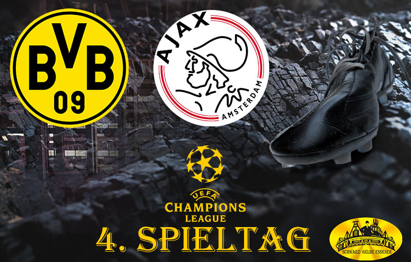 Champions League - 4. Spieltag: BVB - Ajax Amsterdam