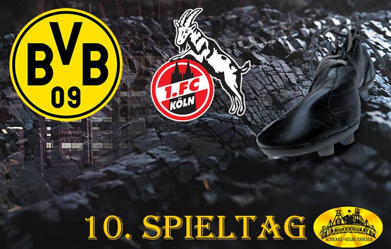 10. Spieltag: BVB - 1. FC Köln