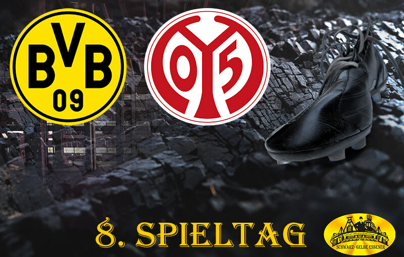 8. Spieltag: BVB - 1. FSV Mainz 05