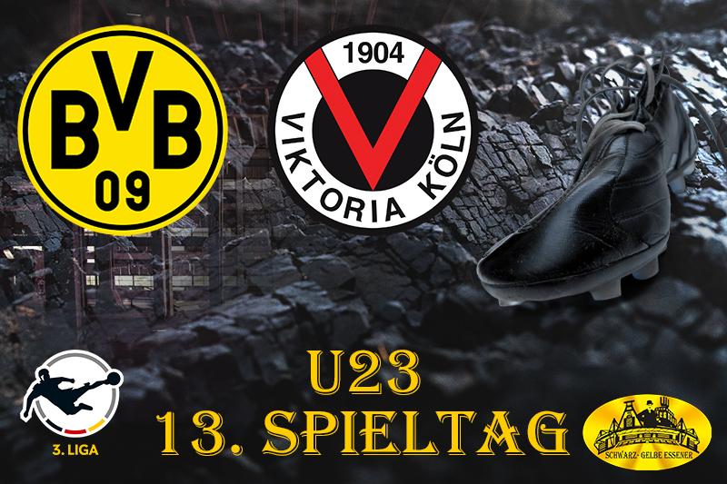 U23 - 13. Spieltag: BVB - Viktoria Köln